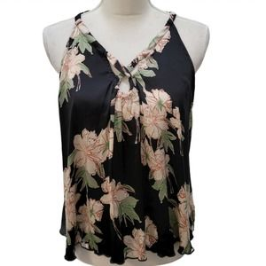Intimately Free People Floral Blouse Sleeveless